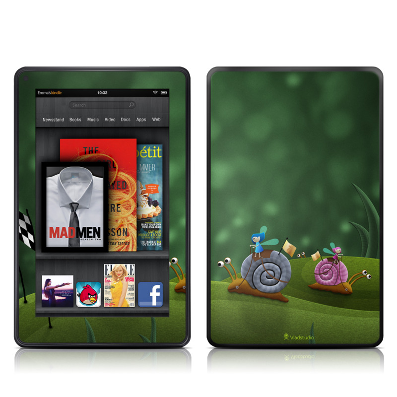 Snail Race Amazon Kindle Fire Skin