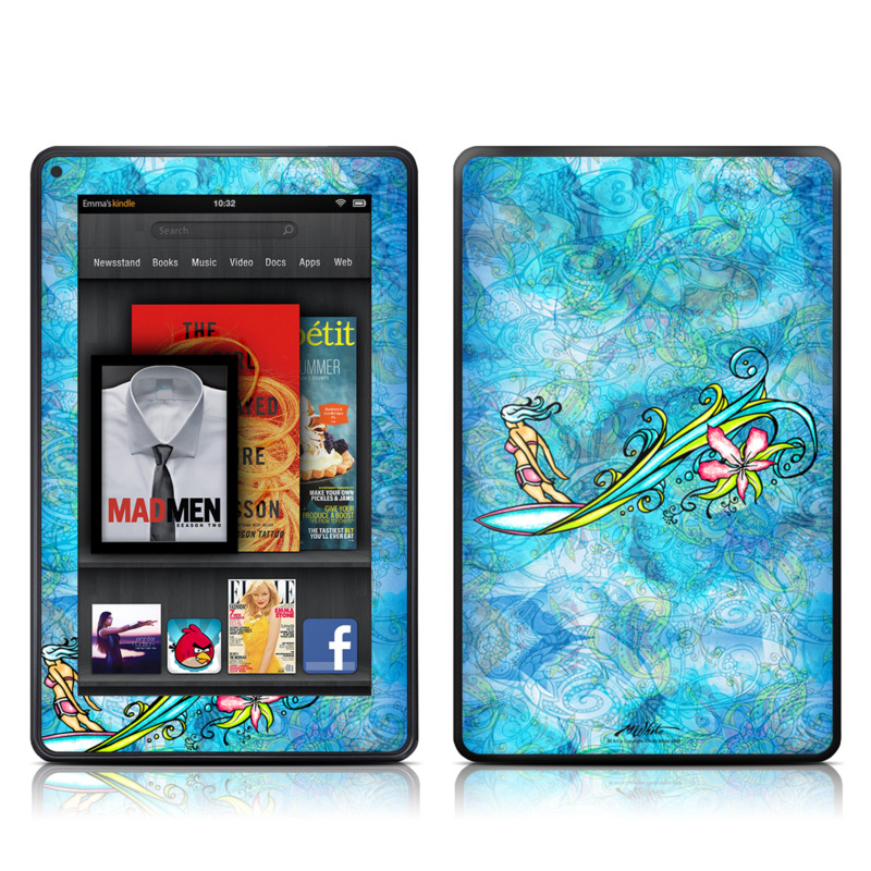 Soul Flow Amazon Kindle Fire Skin