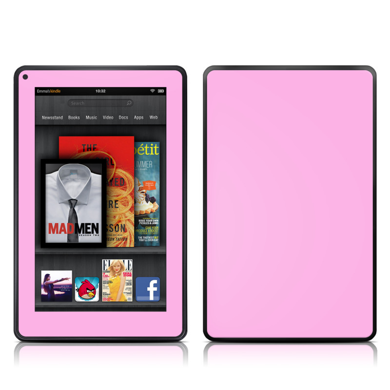 Solid State Pink Amazon Kindle Fire Skin