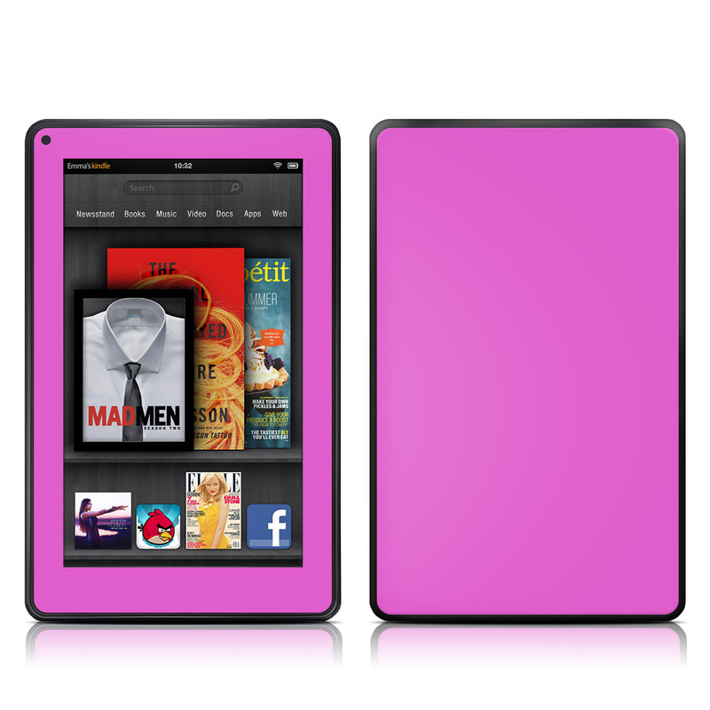 Solid State Vibrant Pink Amazon Kindle Fire Skin