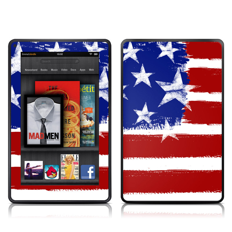 Stars + Stripes Amazon Kindle Fire Skin