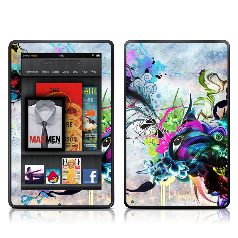 Streaming Eye Amazon Kindle Fire Skin