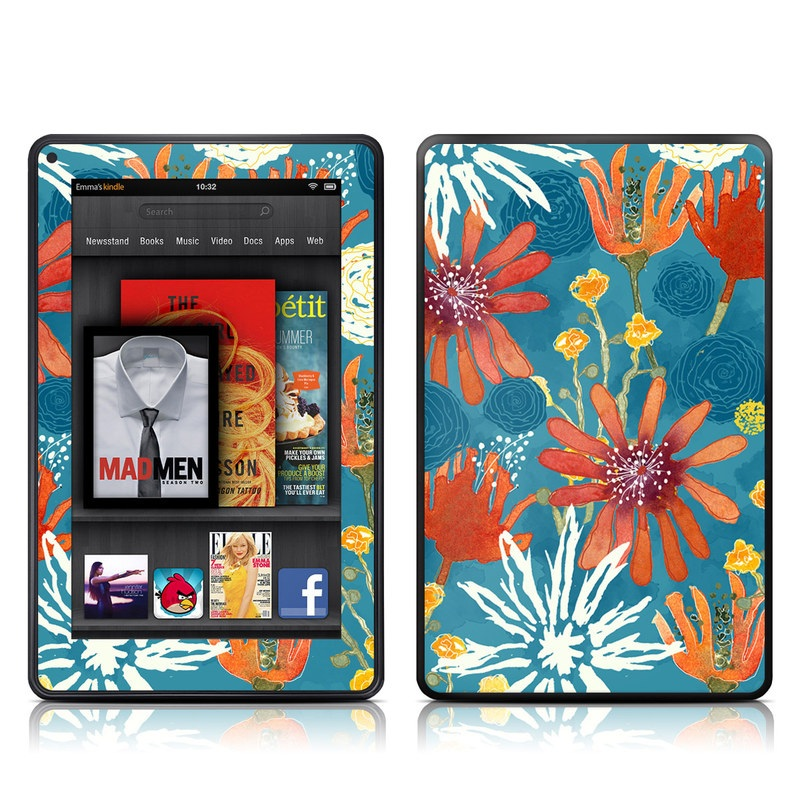 Sunbaked Blooms Amazon Kindle Fire Skin
