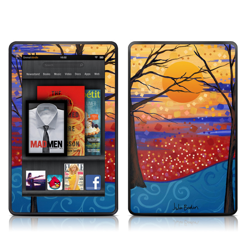 Sunset Moon Amazon Kindle Fire Skin