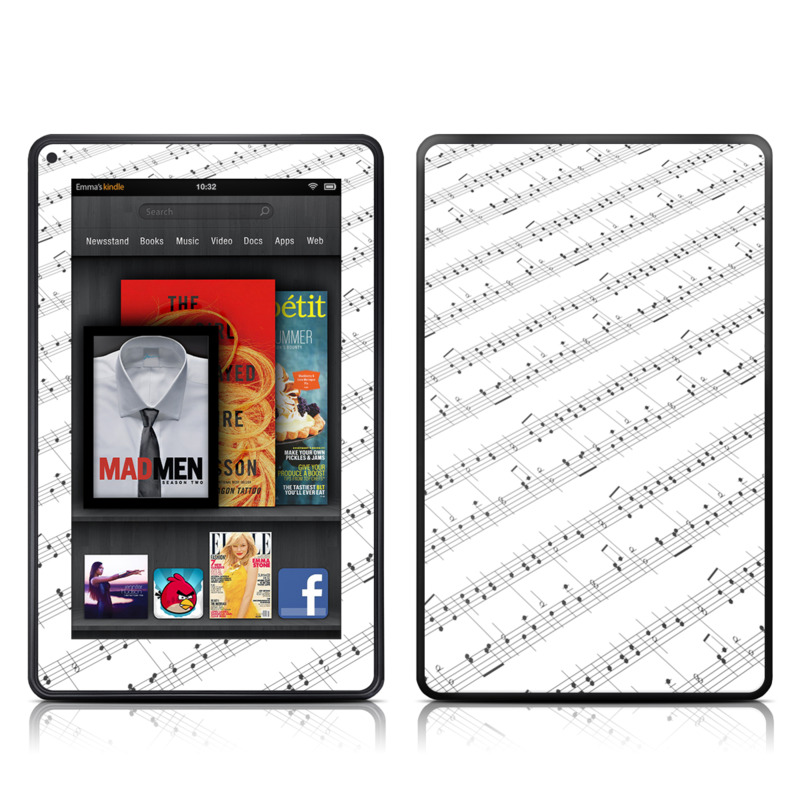 Symphonic Amazon Kindle Fire Skin
