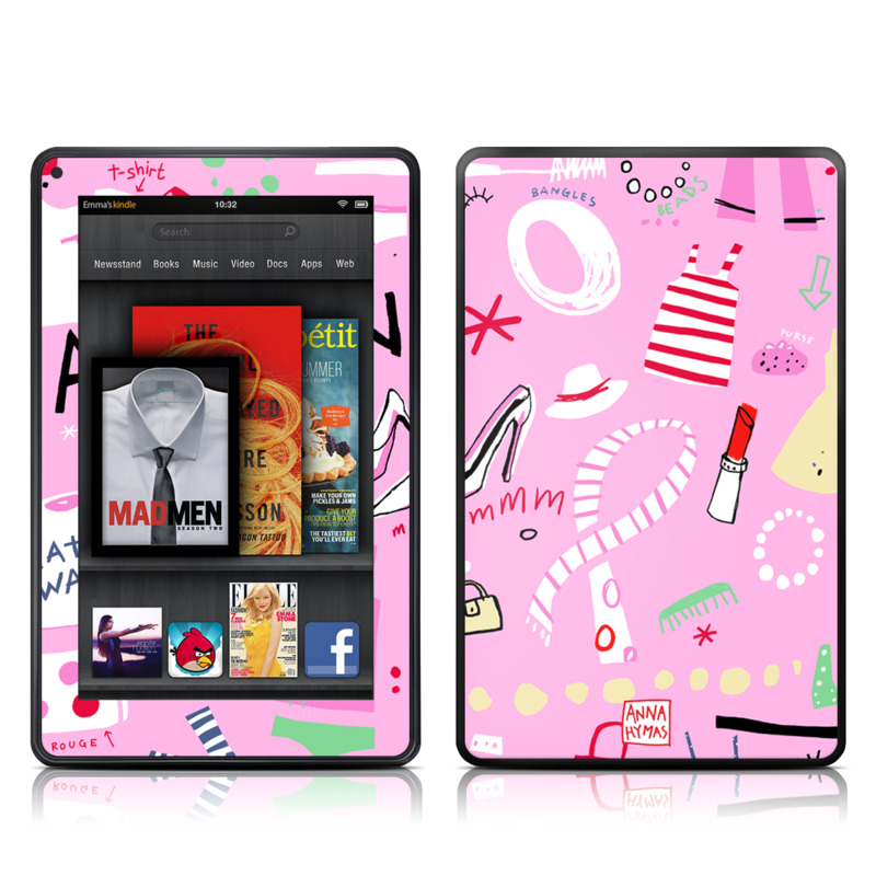 Tres Chic Amazon Kindle Fire Skin