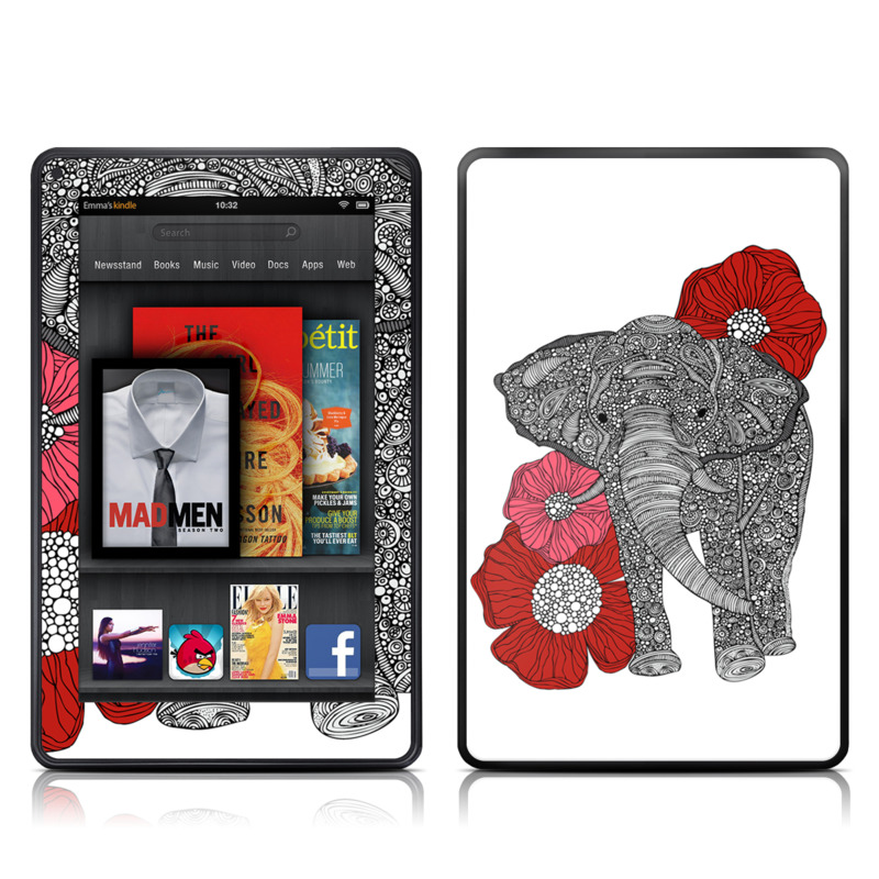 The Elephant Amazon Kindle Fire Skin
