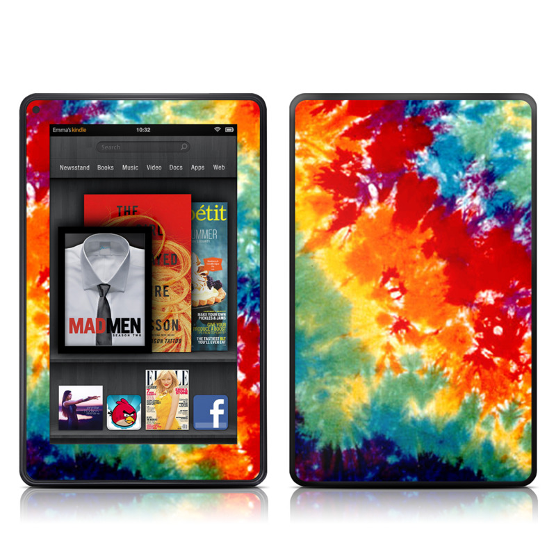 Tie Dyed Amazon Kindle Fire Skin