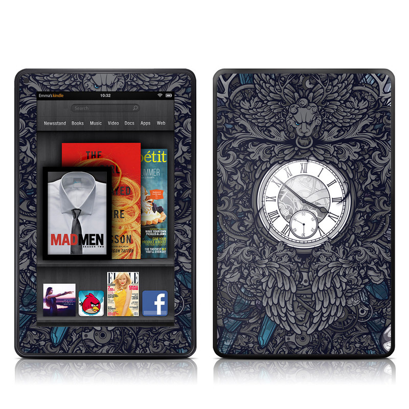 Time Travel Amazon Kindle Fire Skin