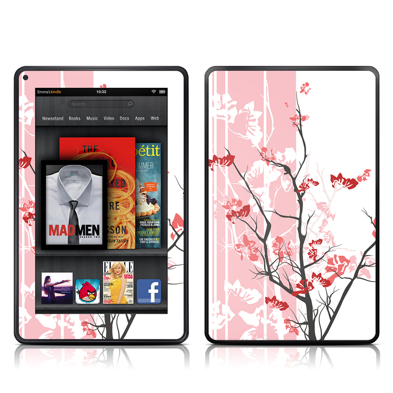 Pink Tranquility Amazon Kindle Fire Skin