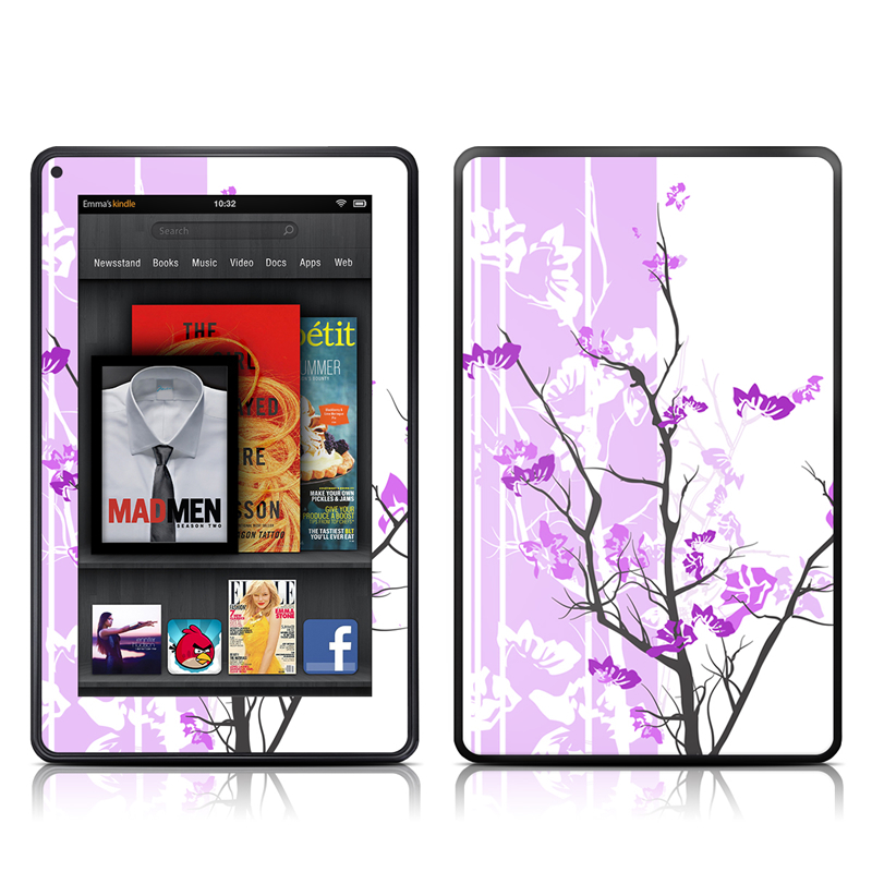 Violet Tranquility Amazon Kindle Fire Skin