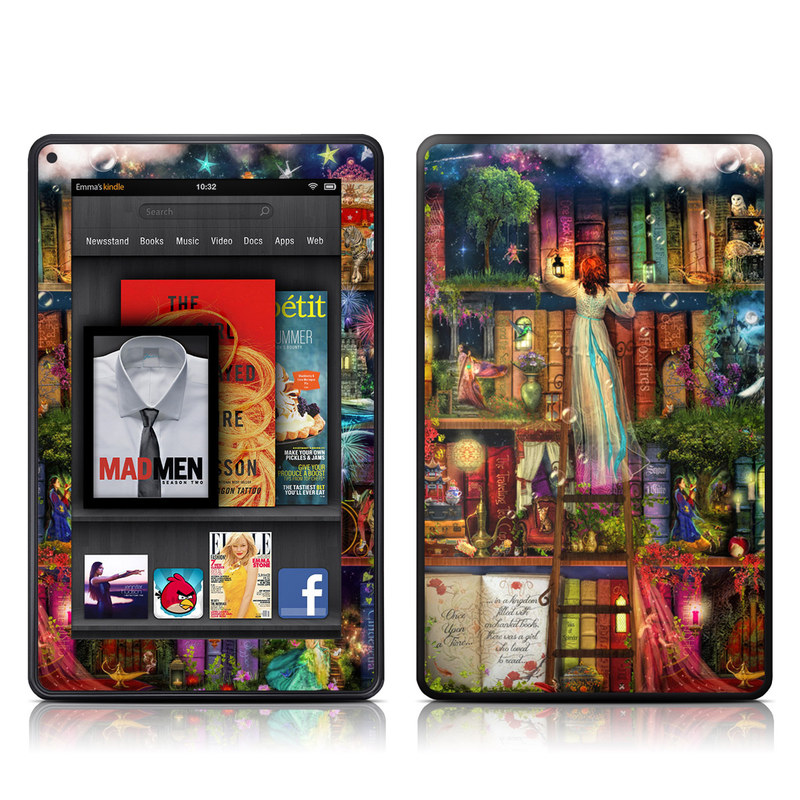 Treasure Hunt Amazon Kindle Fire Skin