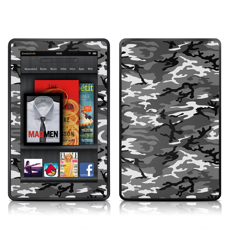 Urban Camo Amazon Kindle Fire Skin