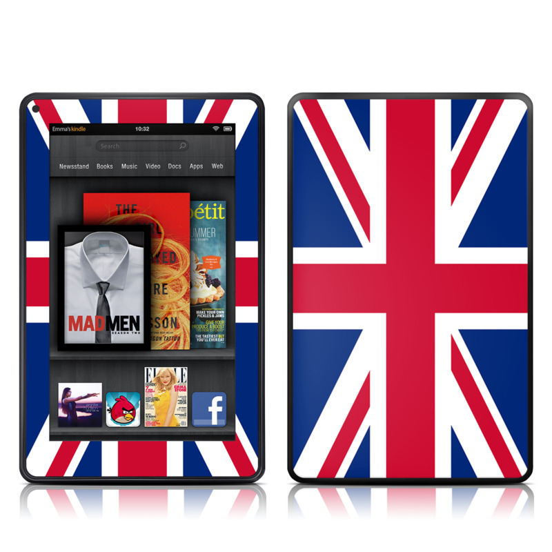 Union Jack Amazon Kindle Fire Skin
