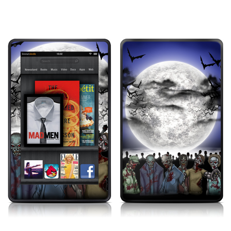 Undead Amazon Kindle Fire Skin