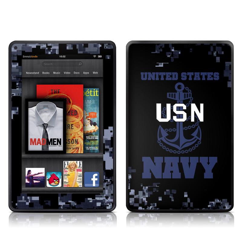 USN Amazon Kindle Fire Skin