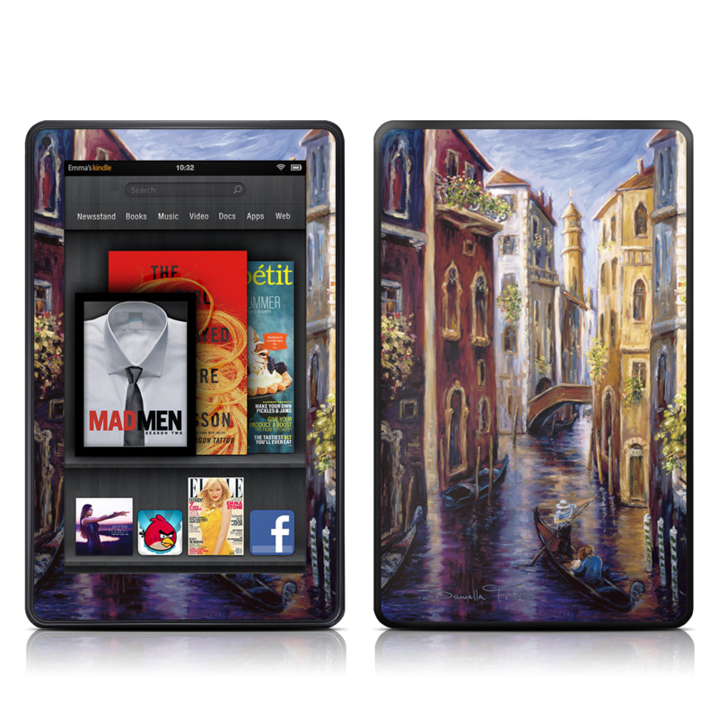 Venezia Amazon Kindle Fire Skin