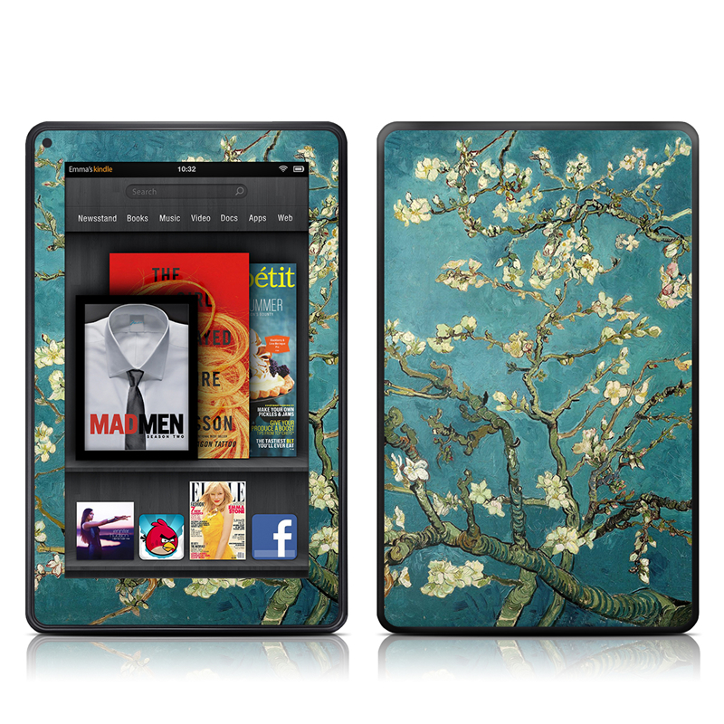 Blossoming Almond Tree Amazon Kindle Fire Skin
