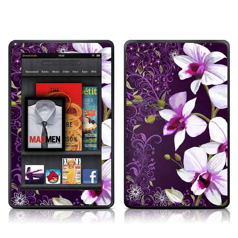 Violet Worlds Amazon Kindle Fire Skin
