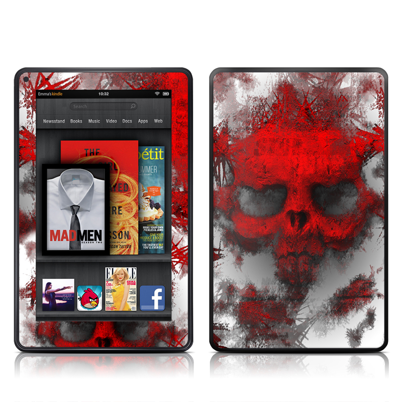 War Light Amazon Kindle Fire Skin