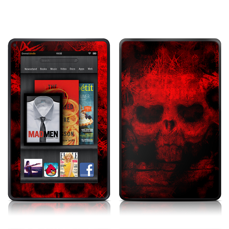 War Amazon Kindle Fire Skin