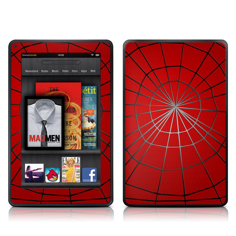 Webslinger Amazon Kindle Fire Skin