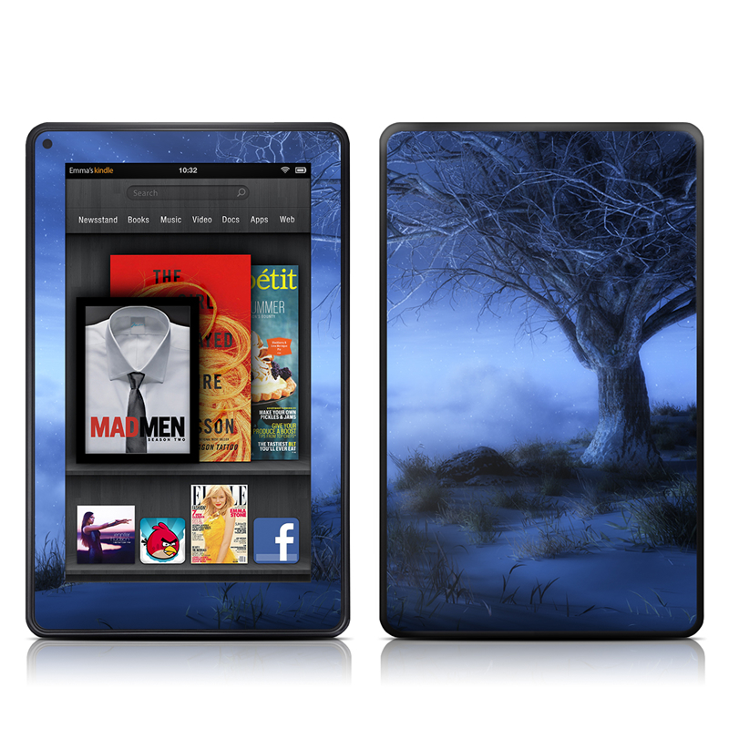 World's Edge Winter Amazon Kindle Fire Skin