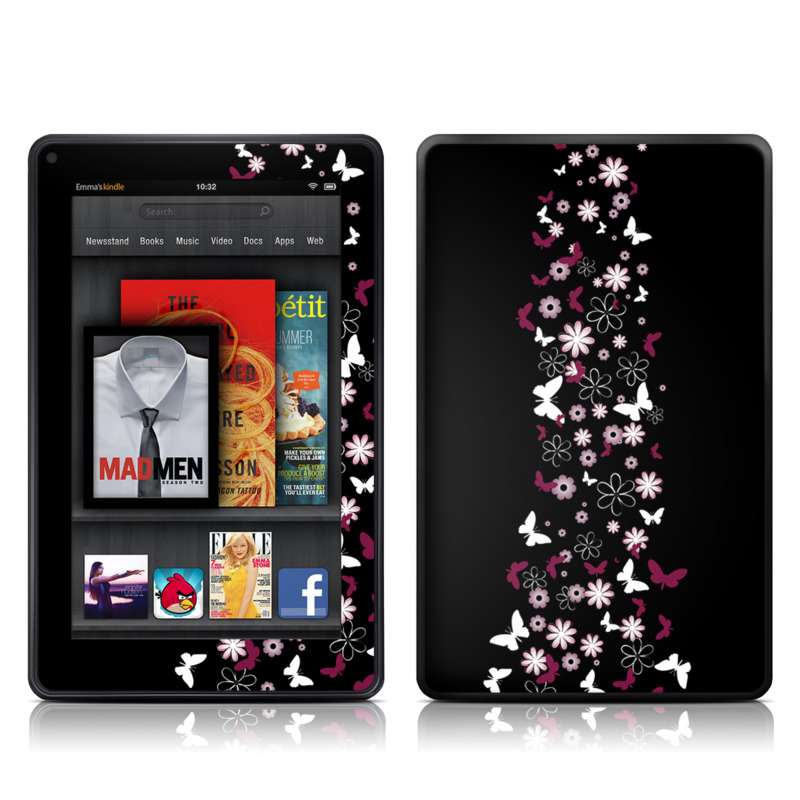Whimsical Amazon Kindle Fire Skin