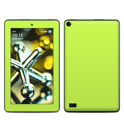 Solid State Lime Amazon Fire (2015) Skin