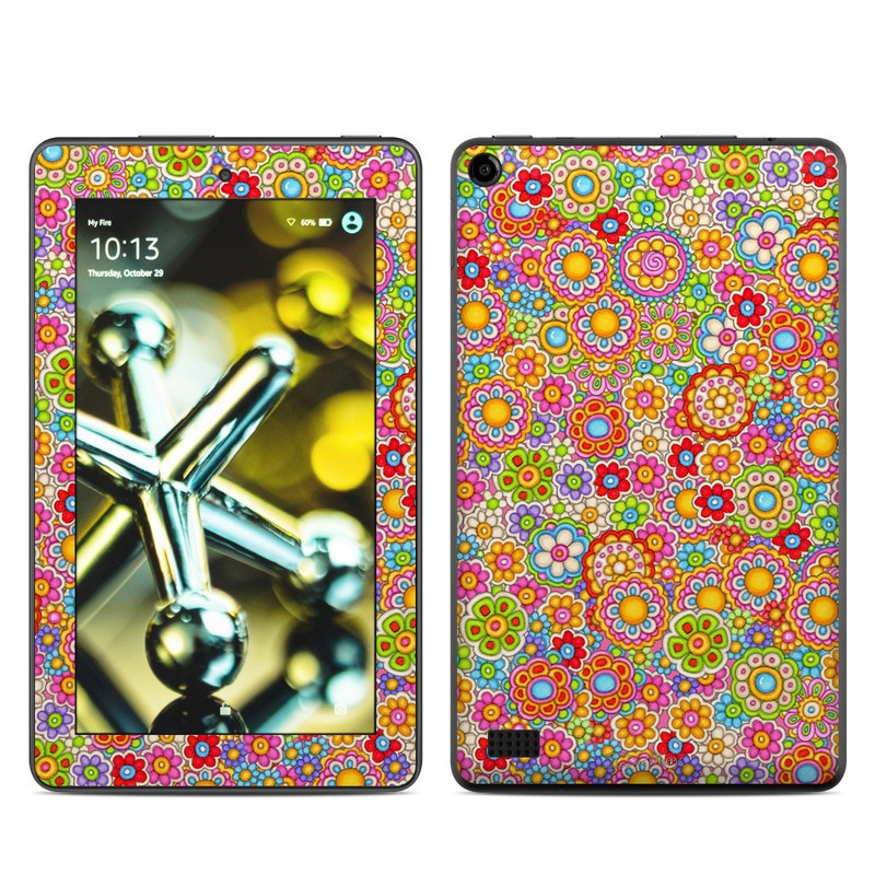 Bright Ditzy Amazon Fire (2015) Skin