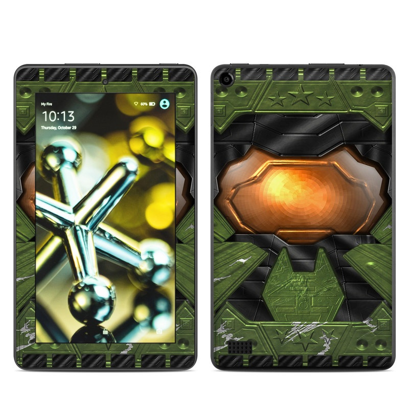 Amazon Fire 2015 Skin design of Green, Fictional character, Games, Fiction, Pc game, Illustration, Strategy video game, Digital compositing, Art, Screenshot with green, yellow, orange, black colors
