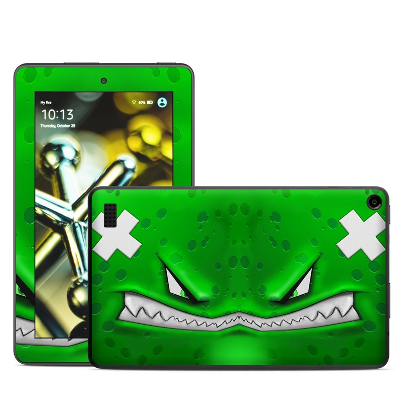 Amazon Fire 2015 Skin design of Green, Font, Animation, Logo, Graphics, Games with green, white colors