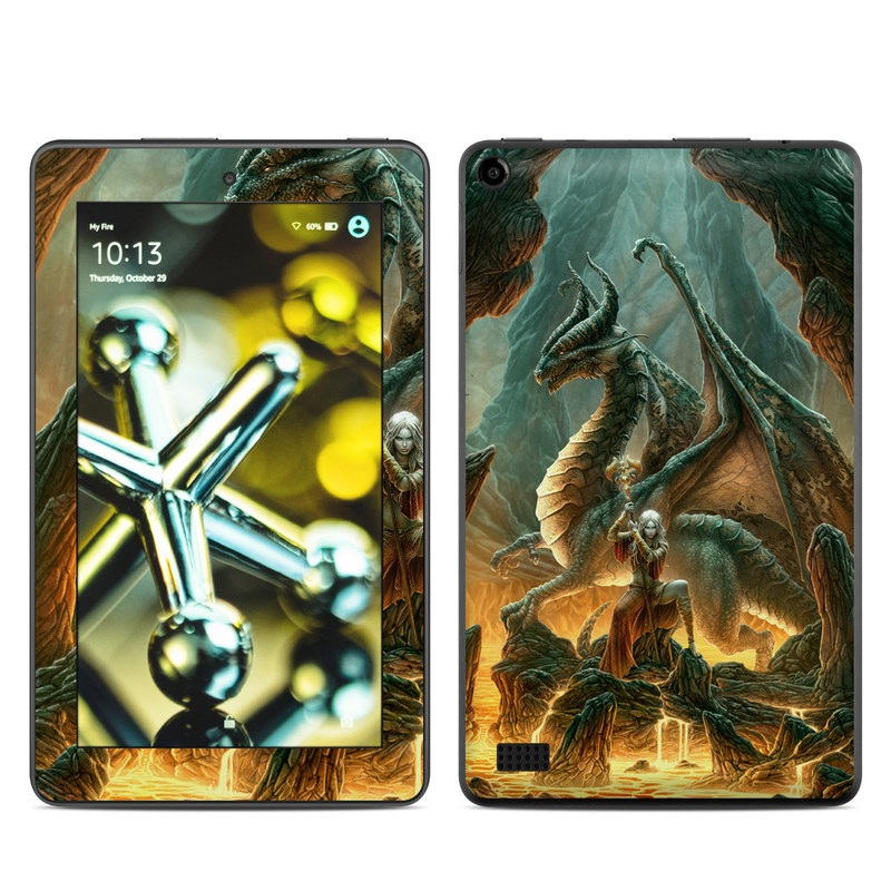Dragon Mage Amazon Fire (2015) Skin