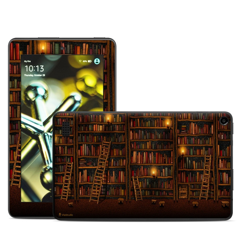 Library Amazon Fire (2015) Skin