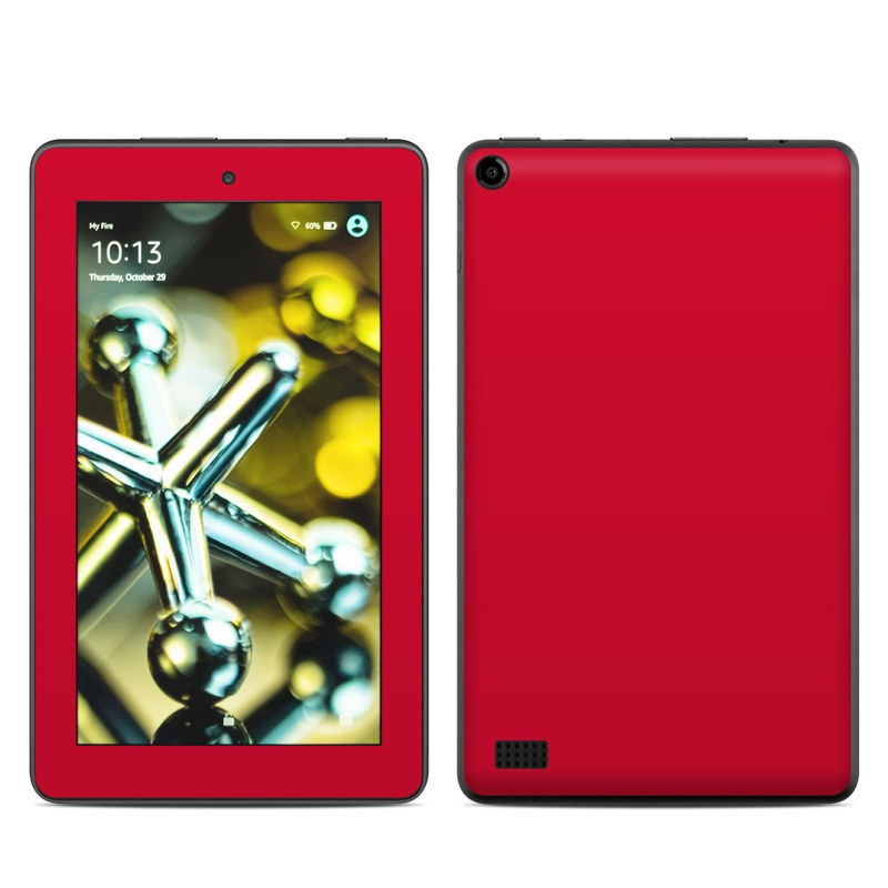 Amazon Fire 2015 Skin design of Red, Pink, Maroon, Purple, Orange, Violet, Magenta, Material property, Font, Peach with red colors