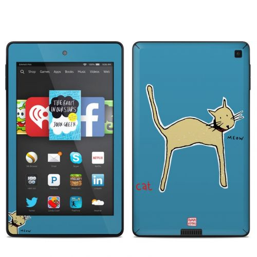Cat Amazon Kindle Fire HD 6 Skin