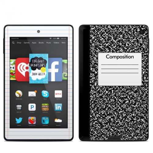 Composition Notebook Amazon Kindle Fire HD 6 Skin