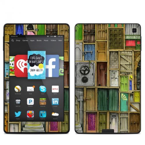 Doors Closed Amazon Kindle Fire HD 6 Skin