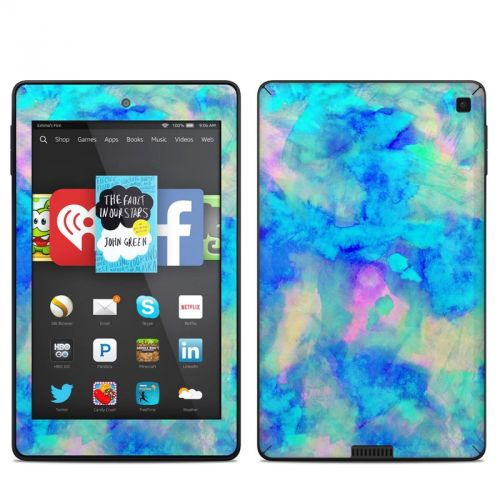 Electrify Ice Blue Amazon Kindle Fire HD 6 Skin