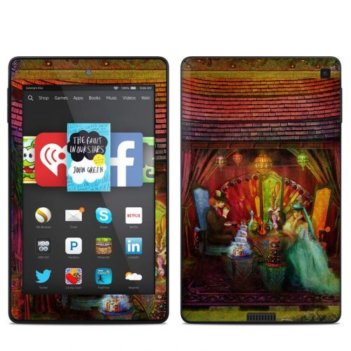 A Mad Tea Party Amazon Kindle Fire HD 6 Skin
