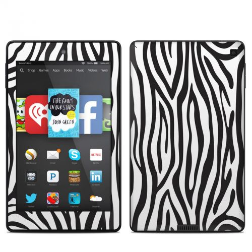 Zebra Stripes Amazon Kindle Fire HD 6 Skin