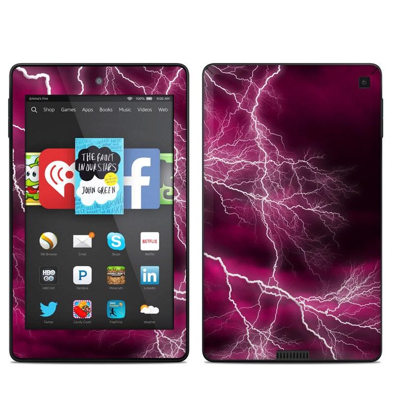 Apocalypse Pink Amazon Kindle Fire HD 6 Skin