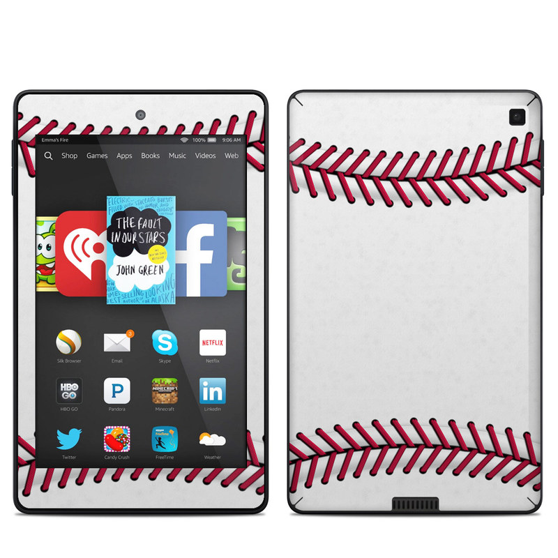 Amazon Kindle Fire HD 6 2014 Skin design of Red, Line, Pink, Parallel, Paper with white, red colors