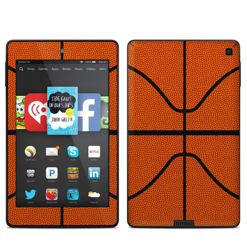 Basketball Amazon Kindle Fire HD 6 Skin