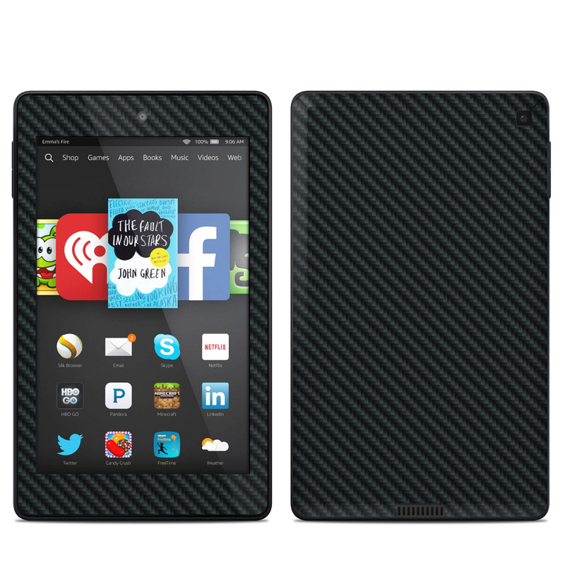 Carbon Fiber Amazon Kindle Fire HD 6 Skin