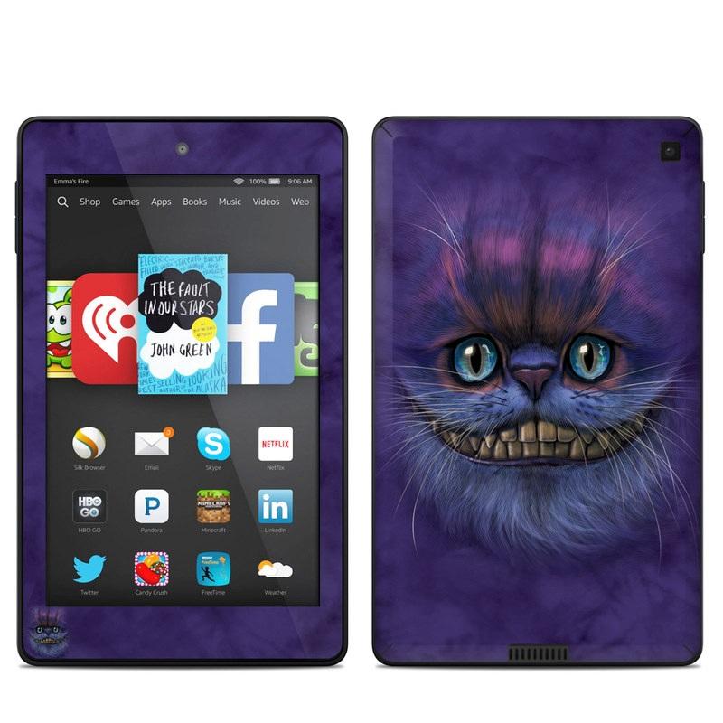 Cheshire Grin Amazon Kindle Fire HD 6 Skin