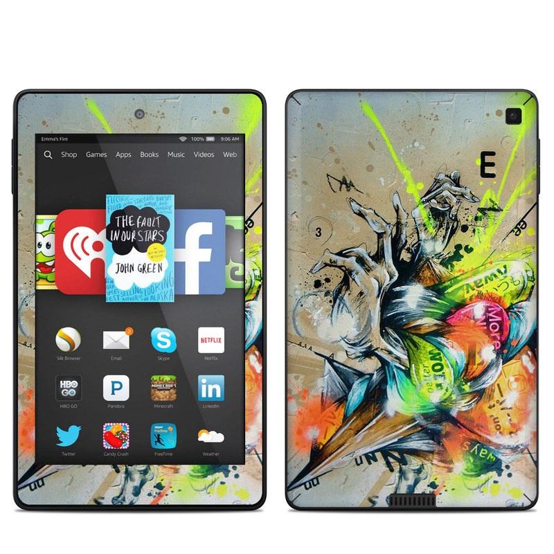 Dance Amazon Kindle Fire HD 6 Skin