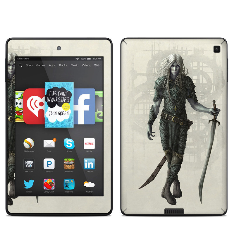 Dark Elf Amazon Kindle Fire HD 6 Skin