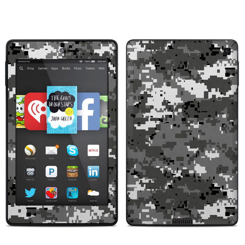Digital Urban Camo Amazon Kindle Fire HD 6 Skin