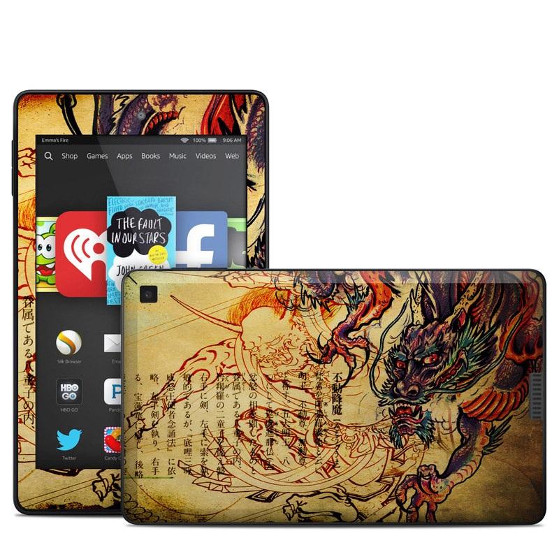 Dragon Legend Amazon Kindle Fire HD 6 Skin